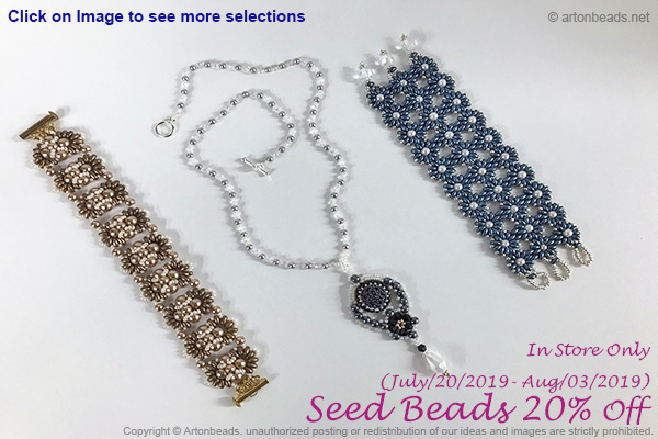 Seed Beads 20% off