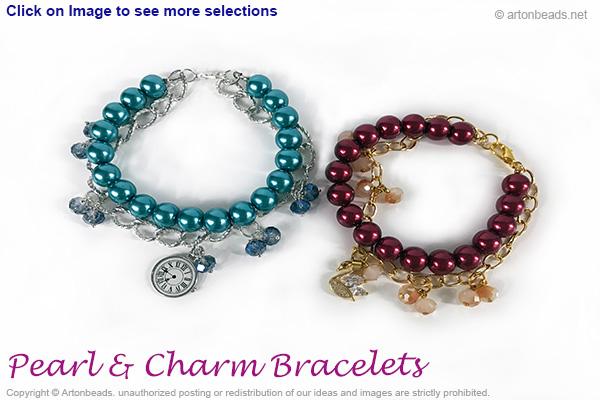 Pearl & charm Bracelets