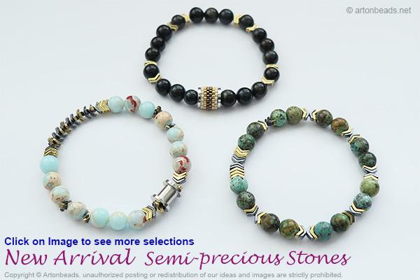 New Arrival Semi-Precious Stones