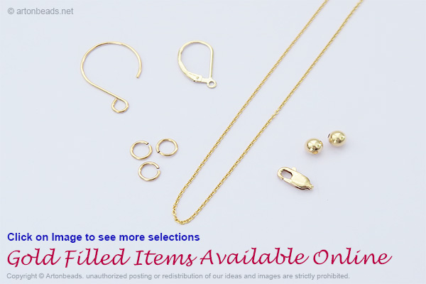 Gold Filled Items Available online.