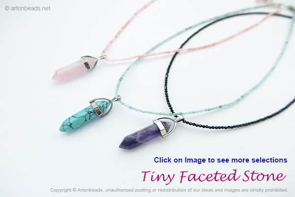 Tiny Faceted Stone